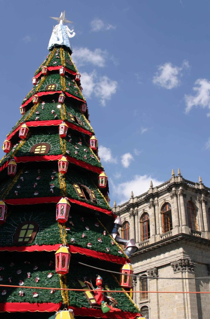 guadalajara christmas tree