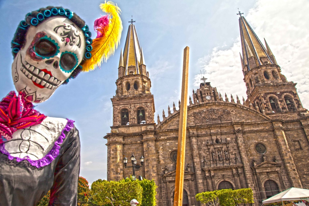 Catrina Guadalajara, Jalisco, Mexico.  A series of Photographs that Bill Bell took.