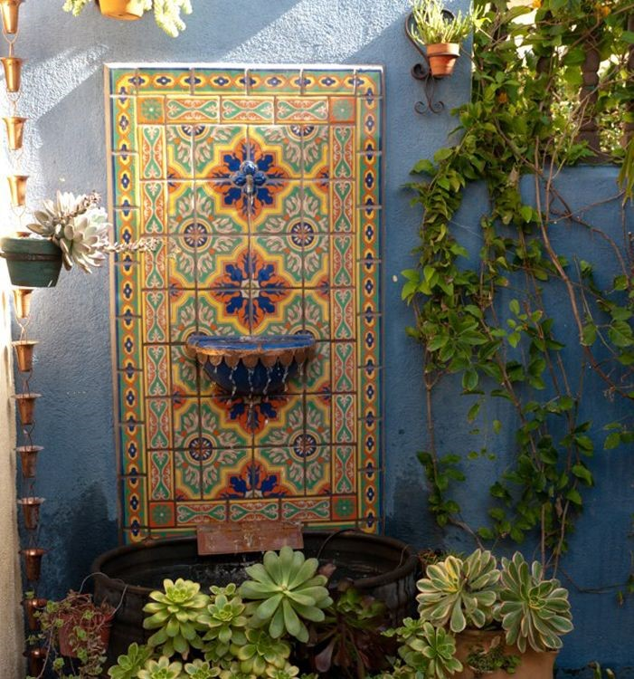 Yard Décor The Beauty Of A Mexican Water Fountain