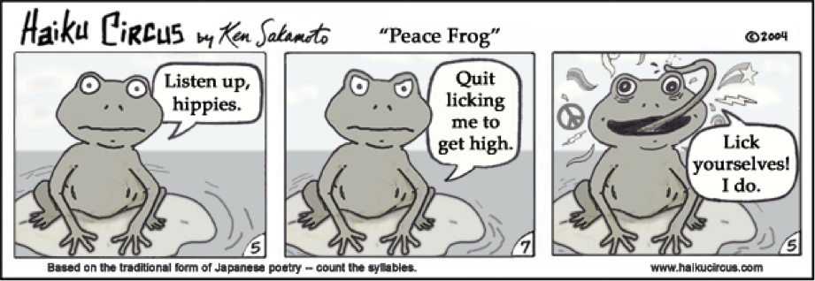 Are lick a toad are not